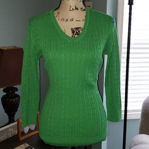 New Covington Cableknit Sweater